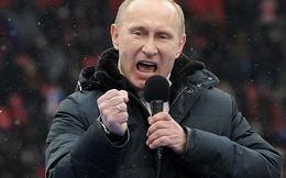 Ông Putin đắc cử Tổng thống Nga với chiến thắng áp đảo
