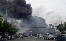 Vũng Tàu: Đang cháy ở khu vực đường Võ Nguyên Giáp