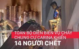 Nhìn lại toàn bộ diễn biến và những câu chuyện ám ảnh trong vụ cháy kinh hoàng ở chung cư Carina khiến 14 người thiệt mạng