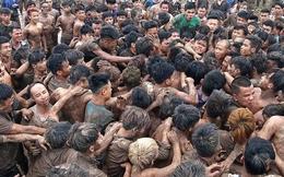 Trăm thanh niên hỗn loạn tại lễ hội cướp phết Hiền Quan