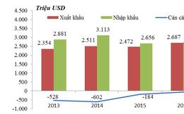 Việt Nam liên tục nhập siêu từ Ấn Độ
