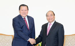 Thủ tướng mong muốn Tập đoàn Lotte hỗ trợ tiêu thụ nông sản