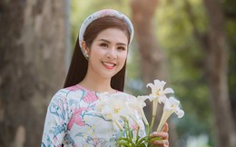 """Hoa hậu Ngọc Hân: """"Khó khăn lớn nhất khi khởi nghiệp là vấn đề quản trị kinh doanh, nhân sự"""""""