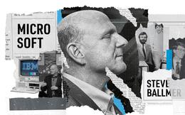 Microsoft và Steve Ballmer: Điều gì đã khiến gã khổng lồ ngã quị trên đỉnh cao?