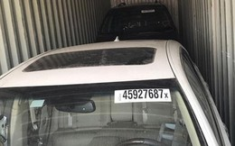 3 container xe Toyota cũ nhập khẩu khai báo là... lốp ôtô