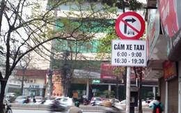 Đề nghị gỡ bỏ các biển cấm taxi tại Hà Nội