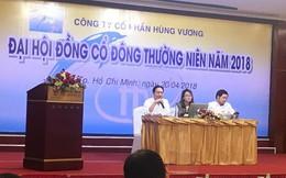 """ĐHĐCĐ Hùng Vương (HVG): Đang được hỗ trợ vốn, khó khăn hiện đã qua song chủ tịch Dương Ngọc Minh vẫn """"cực kỳ xấu hổ"""""""