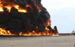 Đường ống dẫn dầu của Libya lại bị tấn công