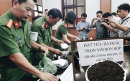 Công an Đắk Nông: Phế phẩm cà phê nhuộm pin con Ó được bán với giá 9.000 đồng/kg
