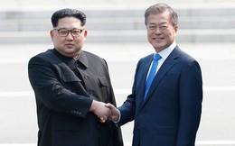 Ông Kim Jong Un gặp Tổng thống Hàn Quốc Moon Jae-in tại Bàn Môn Điếm