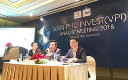 Văn Phú Investment (VPI) đặt mục tiêu 601 tỷ đồng LNST năm 2018