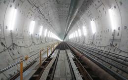 Ngắm đường hầm tàu điện đầu tiên tại Việt Nam sâu 17m dưới lòng đất Sài Gòn