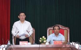 """Phó Thủ tướng Vương Đình Huệ: """"Tuyên Quang phải giảm chi, khoán chi, tiết kiệm chi"""""""
