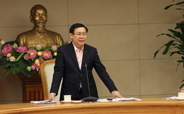 """Phó Thủ tướng Vương Đình Huệ: Thị trường chứng khoán gần đây không ổn định, mật độ tăng giảm """"dầy"""""""