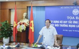 Bộ trưởng Bộ Thông tin Truyền thông: Tôi cũng rất băn khoăn về Bộ quy tắc ứng xử trên mạng xã hội
