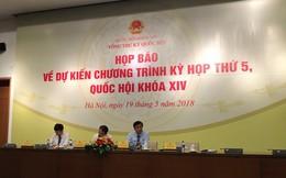 Kỳ họp 5 Quốc hội khóa XIV: Hơn 40% thời lượng kỳ họp sẽ được phát thanh truyền hình trực tiếp