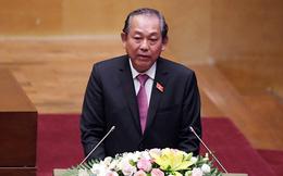 Phó Thủ tướng Trương Hoà Bình: Chỉ có 1/13 chỉ tiêu Quốc hội đặt ra không đạt được trong năm 2017