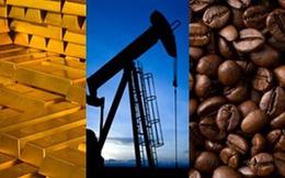 Thị trường hàng hóa ngày 25/5: Vàng, chì tăng giá mạnh trong khi dầu mỏ và cà phê giảm sâu