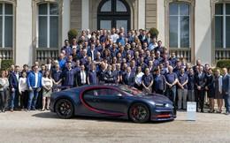 Đại gia mua Bugatti Chiron thứ 100, đắt bằng bản thường và Rolls-Royce Cullinan cộng lại