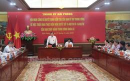 Ban Bí thư: Công bố Quyết định kiểm tra công tác tổ chức, cán bộ tại Hải Phòng