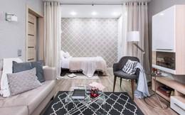 Ngắm căn hộ 37m2 với thiết kế nội thất đẹp ngỡ ngàng