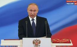 Ông Putin tuyên thệ nhậm chức Tổng thống Nga nhiệm kỳ thứ 4