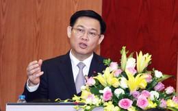 Phó Thủ tướng Vương Đình Huệ: Chúng tôi đang lo ngại chu kỳ khủng hoảng 10 năm!