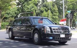 Ông Trump rời Khách sạn Shangri-La tới gặp Thủ tướng Lý Hiển Long trên đoàn xe 30 chiếc