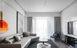 Căn hộ màu trắng thiết kế đơn giản và tinh tế