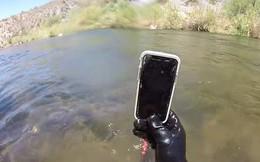 YouTuber chơi mò kho báu, ai ngờ gặp iPhone X ngậm nước đáy sông nửa tháng vẫn dùng mượt mà