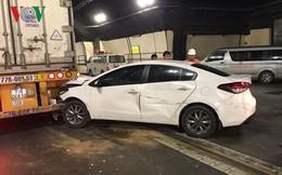 Hầm đường bộ Hải Vân ùn tắc cục bộ vì tai nạn giao thông liên hoàn