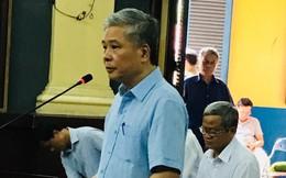 Nghẹn ngào nói lời sau cùng, Nguyên phó thống đốc vẫn khẳng định được đi tái cơ cấu là vinh dự và đầy tự hào