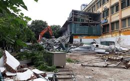 Cưỡng chế công trình sai phép tại mương Phan Kế Bính