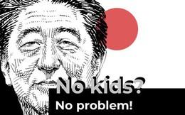 """Thủ tướng Shinzo Abe bênh vực cộng đồng thanh niên không muốn có con: """"Mọi cặp đôi ở Nhật Bản đều có quyền không sinh đẻ"""""""