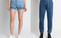 """Mẫu quần jeans """"lộn ngược"""" được tái chế từ hàng đã qua sử dụng được bán với giá tới 500 USD"""