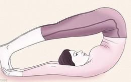 """Thích thú với 7 tư thế yoga tuyệt vời """"đánh bay"""" các vấn đề về phổi, đau lưng, đau đầu và chứng mất ngủ"""