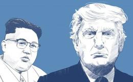 """Cái bắt tay """"búa bổ"""" của ông Trump, giày độn gót của ông Kim và chuyện khó xử ở Thượng đỉnh Mỹ-Triều"""