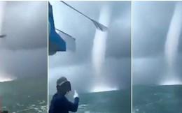 Lý giải hiện tượng vòi rồng khổng lồ xuất hiện ở Sóc Trăng khiến ngư dân hoảng sợ