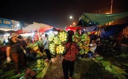"""Chùm ảnh: Hoa sen """"thống lĩnh"""" tại chợ đêm Quảng Bá"""