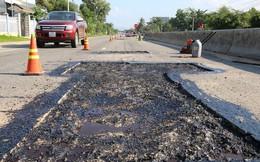Cận cảnh đường 'ngàn tỷ' vừa sử dụng đã hỏng nghiêm trọng ở Quảng Nam