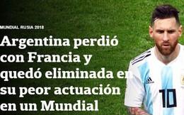 """Báo Pháp ngỡ ngàng, truyền thông Argentina chết lặng sau kịch bản """"điên rồ"""" ở nước Nga"""