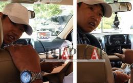 Nơi giấu tiền khó ngờ của tài xế taxi dỏm