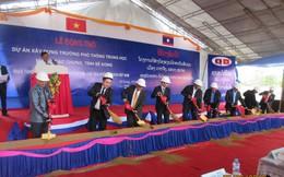 BIDV tài trợ xây dựng Trường PTTH Dakcheung tại tỉnh Sekong, CHDCND Lào