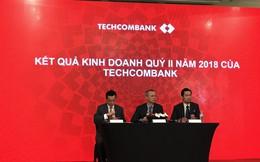 Techcombank báo lãi kỷ lục gần 5.200 tỷ đồng trong 6 tháng đầu năm, gần gấp đôi cùng kỳ 2017