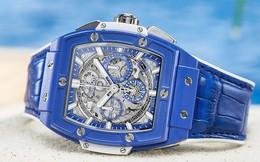 Chiêm ngưỡng đồng hồ Hublot Spirit of Big Bang Blue với sắc xanh thu hút của Địa Trung Hải, cả thế giới chỉ có 100 chiếc