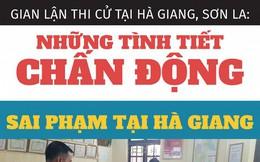 Gian lận điểm thi ở Hà Giang, Sơn La: Những tình tiết chấn động