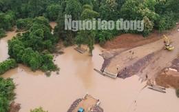 Tường thuật từ nơi vỡ đập thủy điện Lào: Chỉ còn cách dùng trực thăng, ca-nô để cứu người