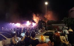 [VIDEO] Cháy lớn chợ Gạo: Lửa vẫn âm ỉ, lực lượng chức năng thâu đêm chữa cháy