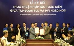 Tập đoàn FLC và PVI Holdings ký thỏa thuận hợp tác toàn diện