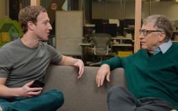 Mark Zuckerberg: Bill Gates chính là nguồn động lực, người truyền cảm hứng cho thành công của tôi